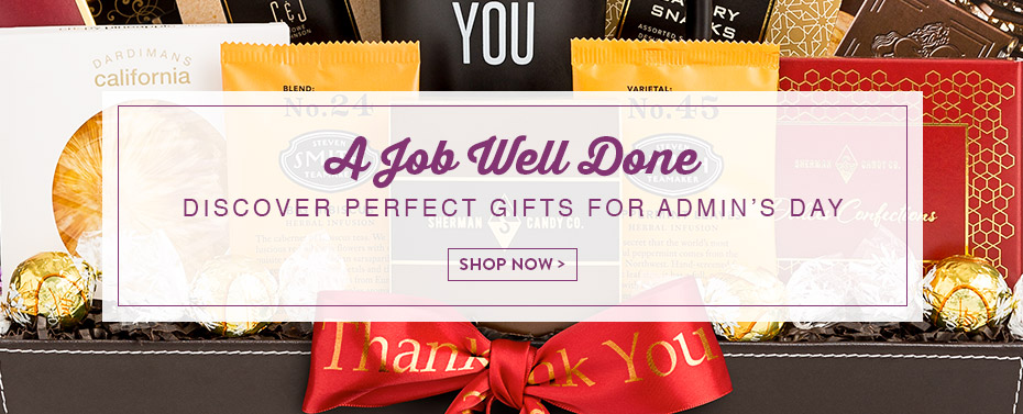 A Job Well Done Discover Perfect Gifts For Admin's Day