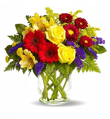 Boston Flower Delivery on Garden Parade Bouquet  Flower Bouquets   Premium  Fresh Flowers In A