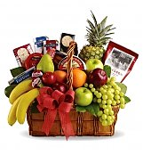 Food & Fruit Baskets: Bon Vivant Gourmet Basket