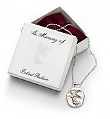 Personalized Keepsake Gifts: Guardian Angel Necklace