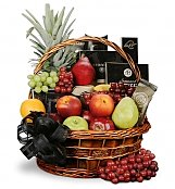 Food & Fruit Baskets: In Our Thoughts Fruit & Gourmet Basket