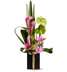 Tropical Flowers: Sense of Zen Bouquet