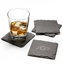 Personalized Keepsake Gifts: Personalized Slate Coasters