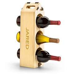 Wine Accessories & Decanters: Personalized Wine Rack