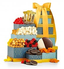 Gift Towers: Gourmet Sweets & Treats Tower