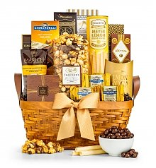 Gourmet Gift Baskets: As Good As Gold Classic
