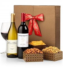Wine Gift Crates: Thinking of You Wine Duet