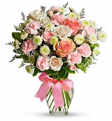 Flower Bouquets: Hugs & Kisses on Mother's Day